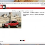 BILD Auto Quiz Antwort