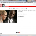 BILD Auto Quiz Frage