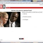 BILD Auto Quiz Frage