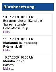 Buergermeister (Kandidat) der Lagenser SPD
