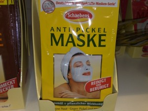 Anti Pickel Gesichtsmaske