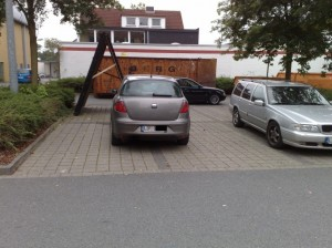 Platzsparende Parken