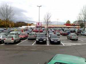 Kaufland Parkplatz